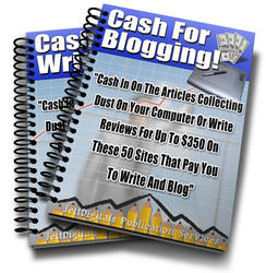 Cash For Blogging
