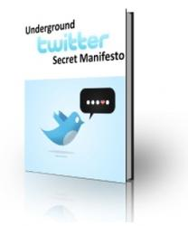 The Underground Secret Twitter Manifesto Exposed